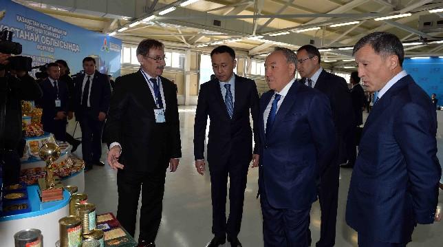 ҚР Президенті «Баян сұлу» АҚ кондитерлік фабрикасында болды