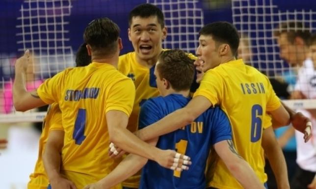 Казахстанские волейболисты одержали победу над Пакистаном в квалификации ЧМ-2018