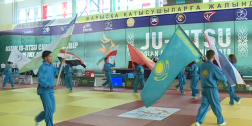 Сборная Казахстана - чемпион Азии по джиу-джитсу